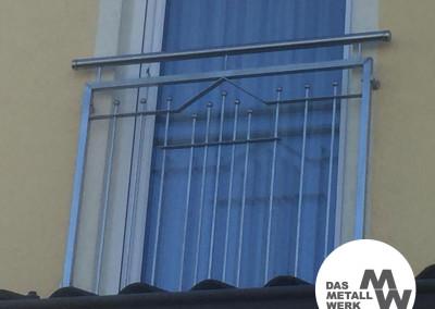 Balkon-Geländer / Franz. Balkon